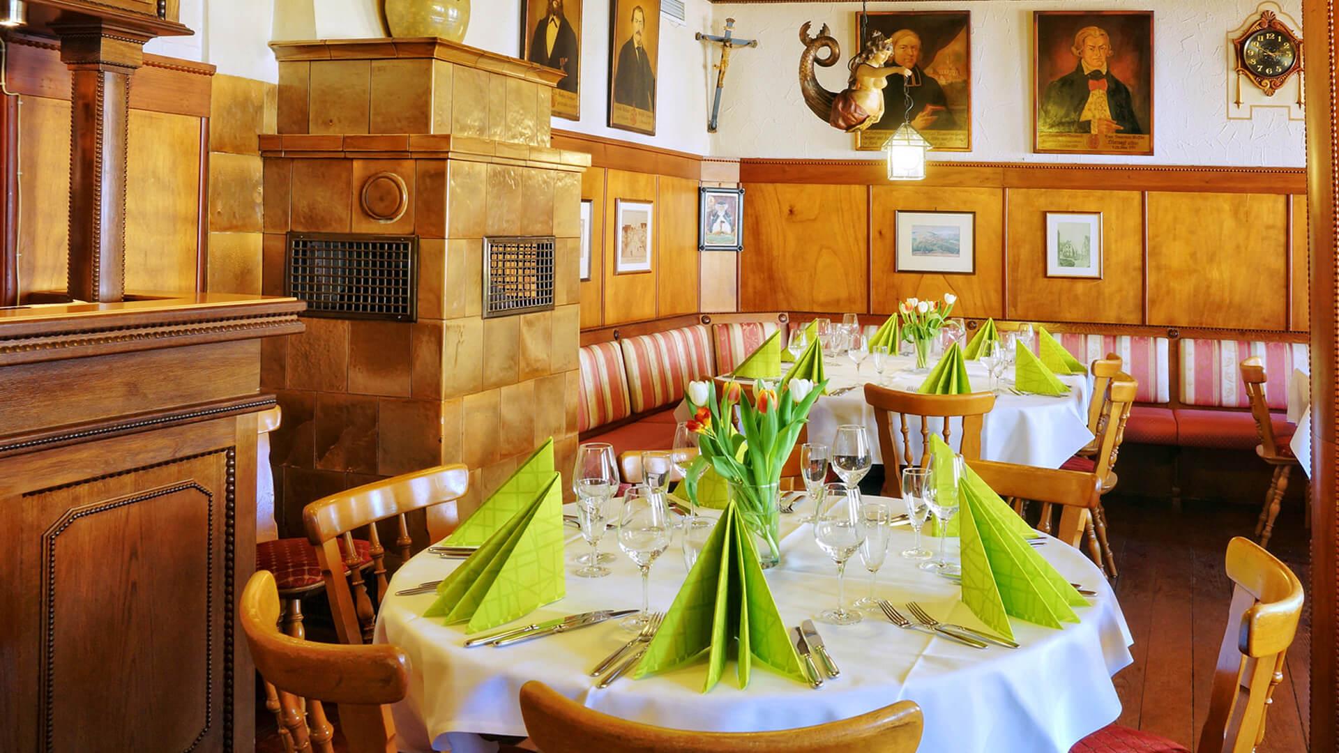 Restaurant des Hotel-Gasthof Schiff in Horb am Neckar