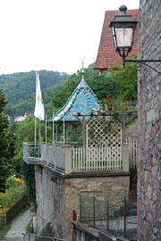 Pavillon des Hotel-Gasthof Schiff - Sommerhalde | Horb am Neckar